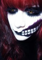 Halloween Make up by kali-vi