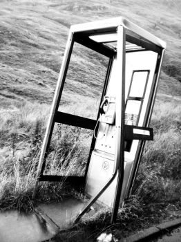 Scotland - Phone booth by Baadsgaard