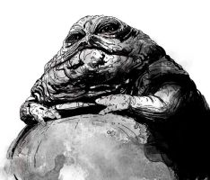 Jabba the Hutt by T-RexJones