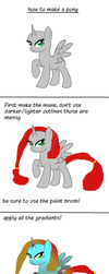 How to make a mary su- I mean a pony! by xHalesx