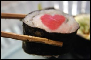 Love for sushi by RagedyOldBitch