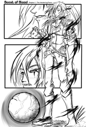 Beast of Blood Chapter 1: The Wandering Flame pg.1 by Promptus