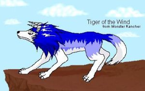 Tiger of the Wind from Monster by Dreams-of-Dragonfire