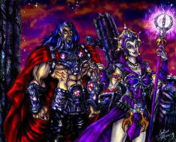 Evil-Lyn's Plot Colored by zorm