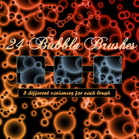 Bubbletastic Brushes for PSP by littiot