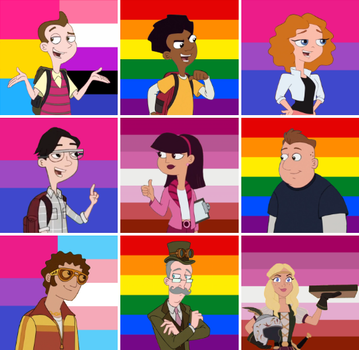 Milo Murphy's Law LGBT Headcanons by Apparently-Taken
