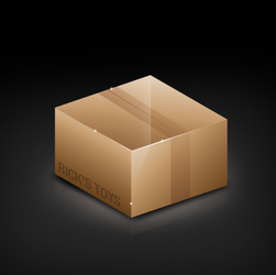 BOX ICON by dellustrations