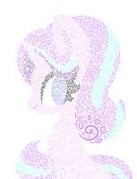 Starlight Glimmer Swirls by HungrySohma16
