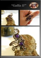 Gallia 2- wire wrapped ring by mea00