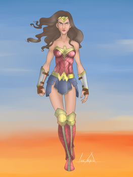 Wonder Woman by LucArtes
