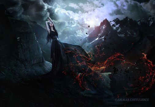 Loneliness In Flames by Ameliethe