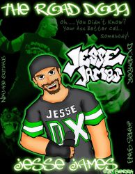 The Road Dogg by EchidnaJC
