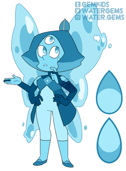 [P] Blue Aragonite by watergems