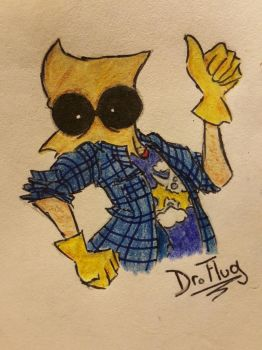 Ultimate genius Flug by MoriArty11