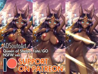 Queen of Sheba - Patreon by ADSouto