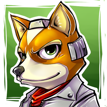 Fox McCloud icon by Isara-La