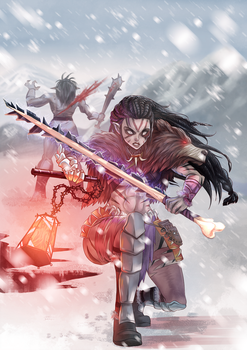 Snowy duel by opcrom