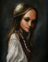 Sonia: Oil Study no. 2 by vee209