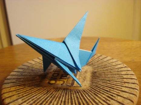 Origami Sharnk by afrokenshi
