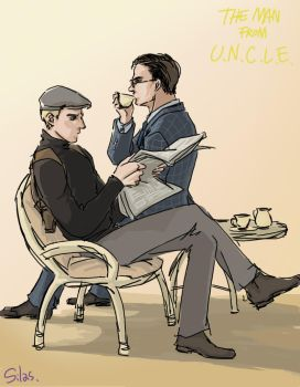 The Man From U.N.C.L.E. by SilasSamle
