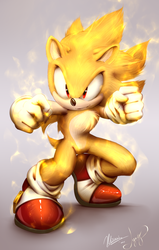 Super Sonic - collab by Myly14