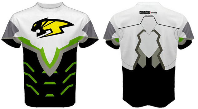 Wild Tiger Hero Suit Sports tee by lawsae