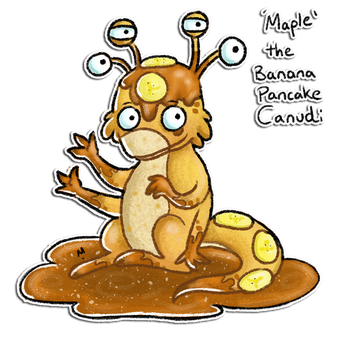 Maple the Canudi Adoptable by Meridot