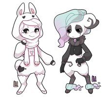 Blanc And Will Rebases by luminarywitch