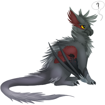 Cass the Silverwind Narg by WhimsicalWoods