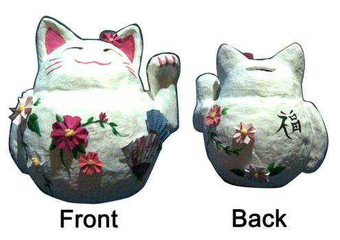 Calico Money Box - Maneki Neko by RedTigger