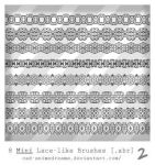 Mini Lace brushes 2 by CAD-animedreams