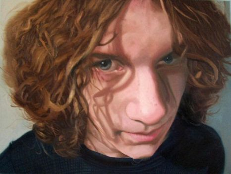Nate Painting by annableker