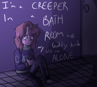 (Vent I guess)Alone by GalaxyGal-11
