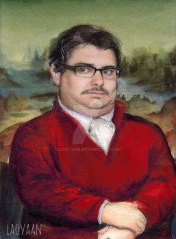 TOTES ADORBZ - Portrait of Ethan Klein by Laovaan