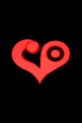 Animated Crest of Love 3D by portadorX