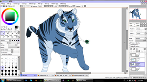Zale WIP by ContradictingCats