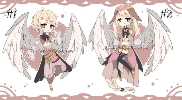 Angelic spirit adoptable batch CLOSED by AS-Adoptables