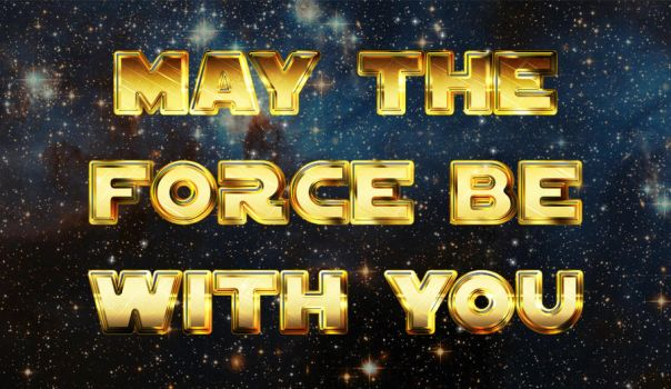 May the force be with you by tashamille
