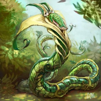 Serperior by CBSorgeArtworks