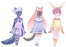 Anthro Adopts [ 2/3 OPEN ] by OstrichAdopts