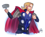 Thor 2 by VexyFate