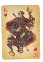 Fable Cards: King of Hearts by Frostbite-Melody