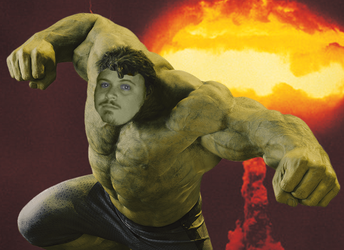 Me as the Hulk by 2barquack