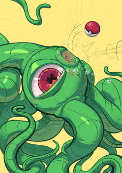 Select your fighter- Gotcha ya Shuma Gorath by Dylean