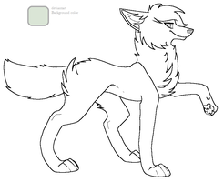 friendly wolf coloring pages - photo#15