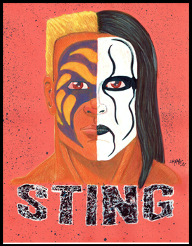 The Icon Sting by MikeMarsArt