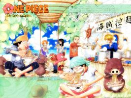 One piece wallpaper by D0nkrig