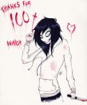 Jeff The Killer - Thanks for 100+ watch by TheLouSama