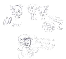 Tails is hard to draw T_T by SonicHearts