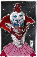 Slim Killer Klown From Outer Space Colors by ARTTHAM